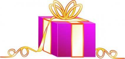 Wrapped Gift clip art
