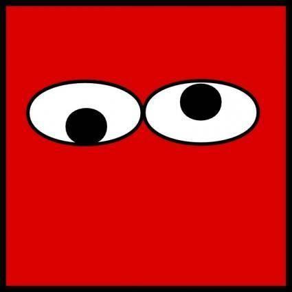 Eyes Googly clip art
