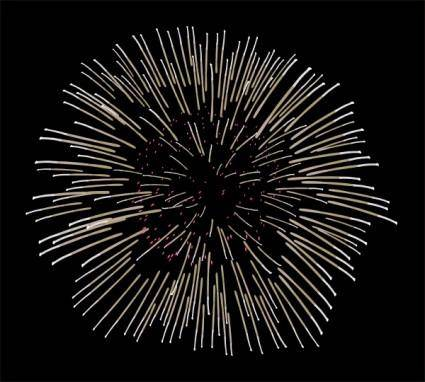 free vector Fireworks clip art