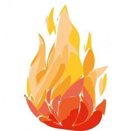 free vector Fire Flames clip art