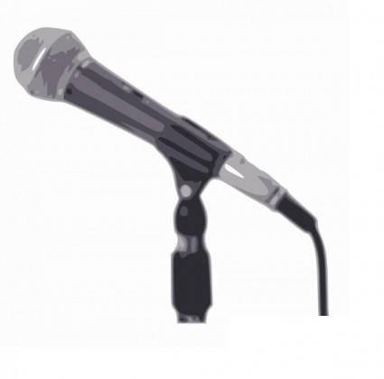 Microphone clip art