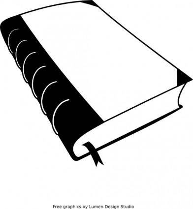 free vector Old Book clip art
