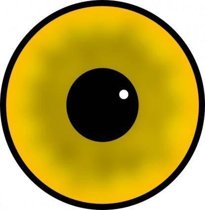 free vector Laobc Yellow Eye clip art