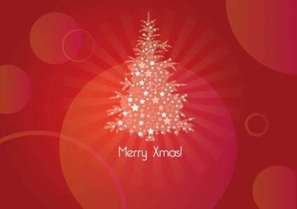 free vector Merry Xmas Card
