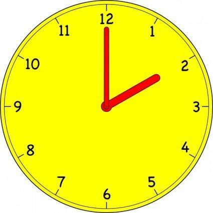 Clock clip art 103443