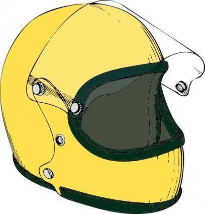 Crash Helmet clip art