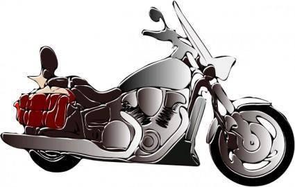 Motorbike clip art