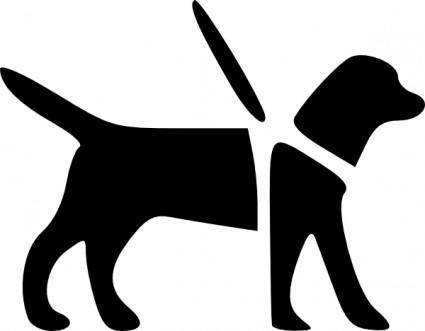 Guidedog clip art