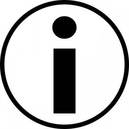 Missiridia Universal Information Symbol clip art