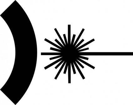 Ashkyd Laser Symbol clip art
