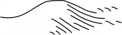 Nailbmb Map Symbols Hill clip art