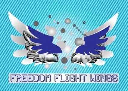 free vector Freedom Wings
