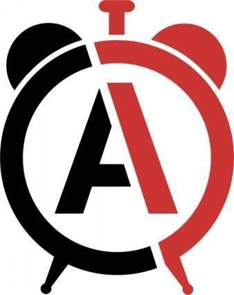 free vector Anarchyclock clip art