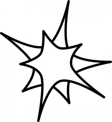 free vector Double Star clip art