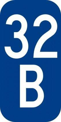 free vector Warren County Route B Ny clip art