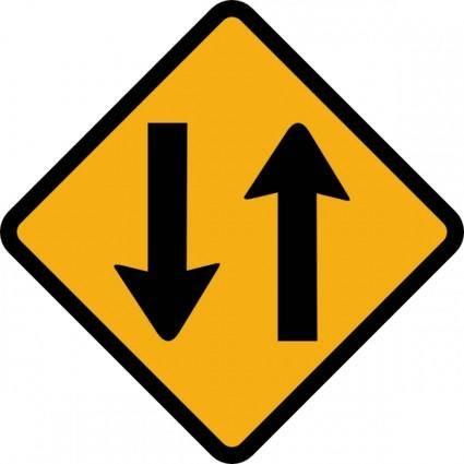 free vector Sign Way clip art