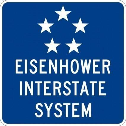 Eisenhower Interstate System clip art