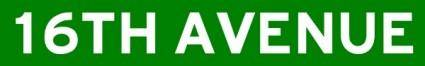 free vector 16th Avenue Street Sign clip art