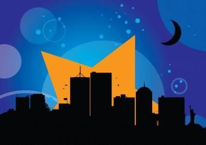 free vector New York City Skyline