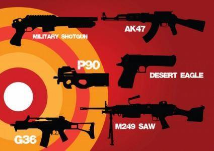 free vector Weapons of War