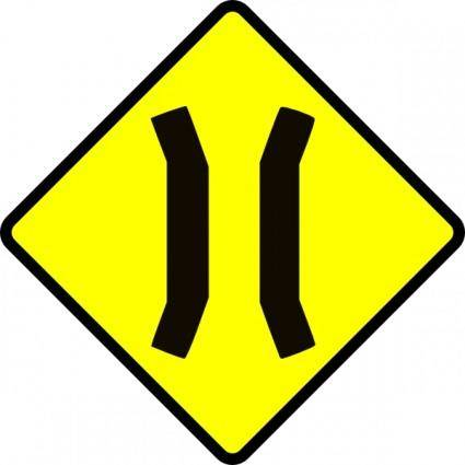 Leomarc Caution Bridge clip art
