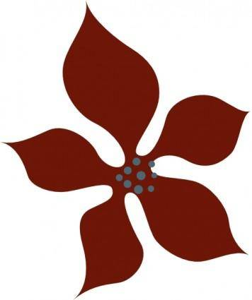 Sutrannu Red Flower clip art