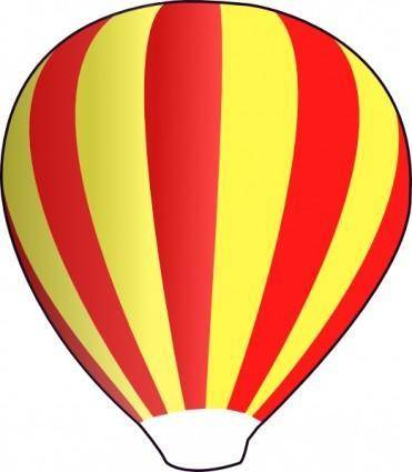 free vector Hot Air Ballon clip art