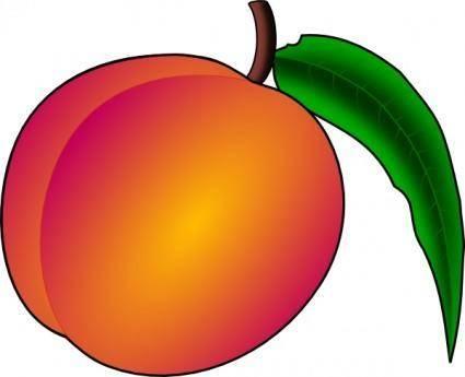 Coredump Peach clip art