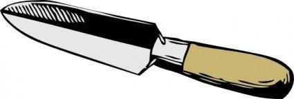 free vector Narrow Trowel clip art