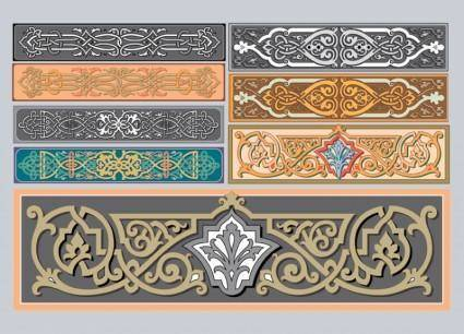 free vector Art Nouveau Ornaments