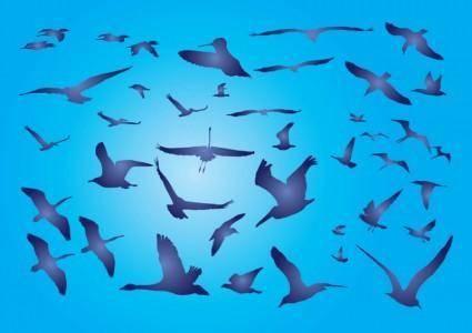 free vector Free Birds