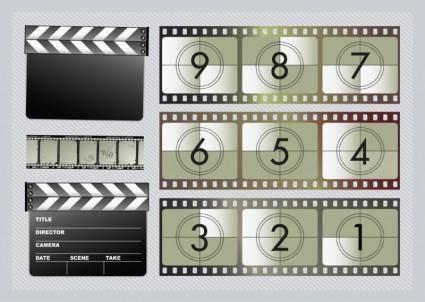 free vector Movie Graphics