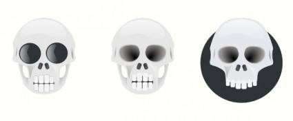 Three Skull clip art