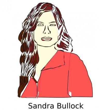 Sandra Bullock clip art