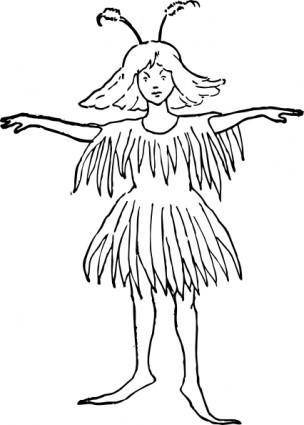 free vector Fay Fairy clip art