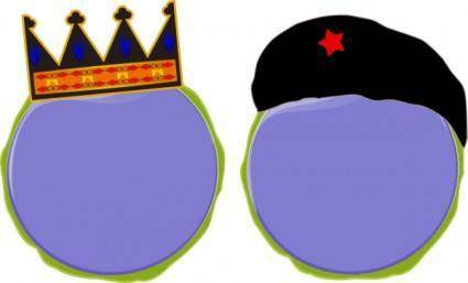 King Soldier Status Rank clip art