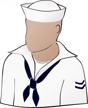 Sailor Face clip art