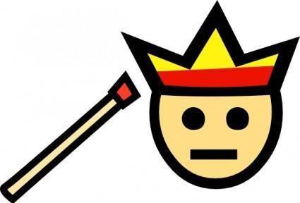 Bonfire Head clip art