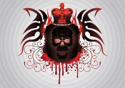 free vector Skull Tattoo