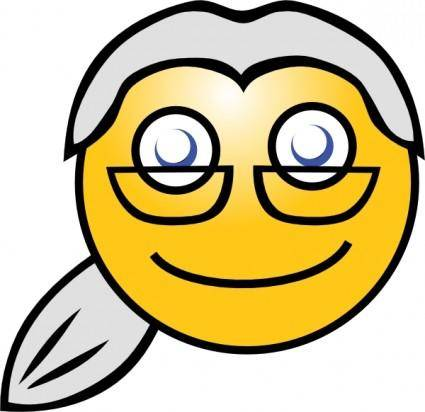 Smiley Lawyer clip art