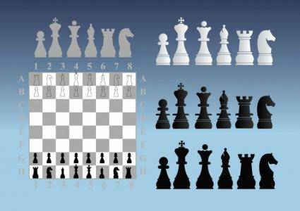 free vector Chess Illustrations
