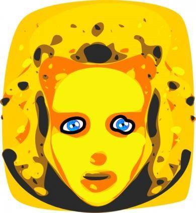 free vector Blonde clip art