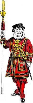Yeoman Of The Guard clip art