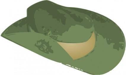 Slouch Hat clip art