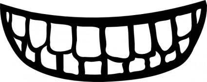 free vector MouthBody Part clip art