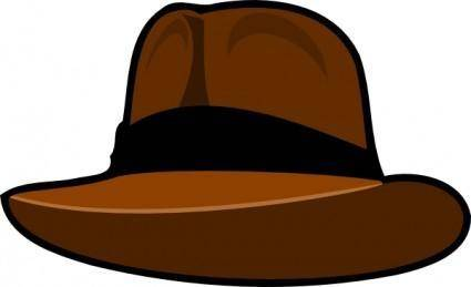 Adventurer Hat clip art