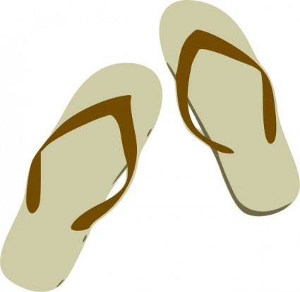 Flip Flops clip art