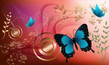 free vector Butterfly Graphics