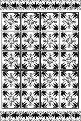 free vector Greece Ornamental Background clip art