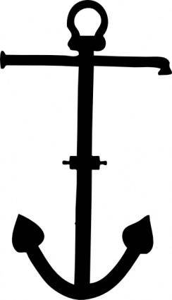Admiralty Pattern Anchor clip art